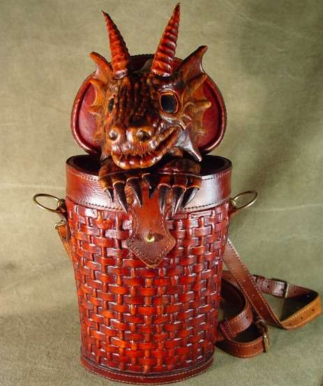 Fire Breathing Handbags
