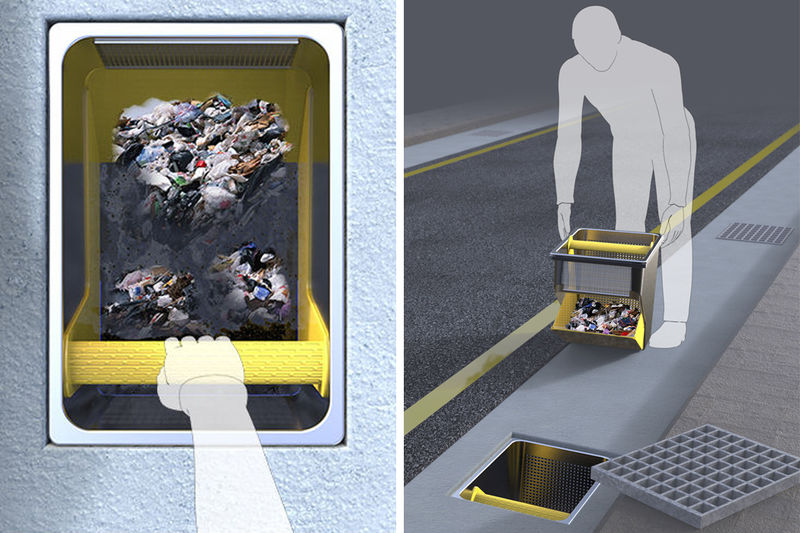 Trash-Catching Sewer Filters