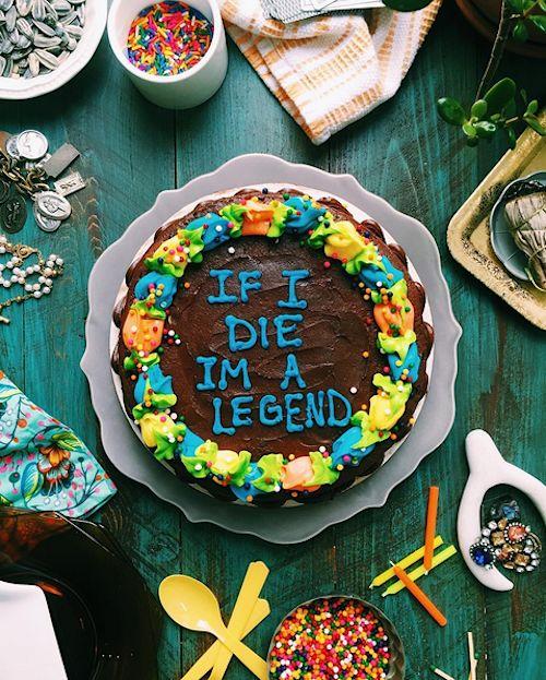 Rap Lyric Cake Designs