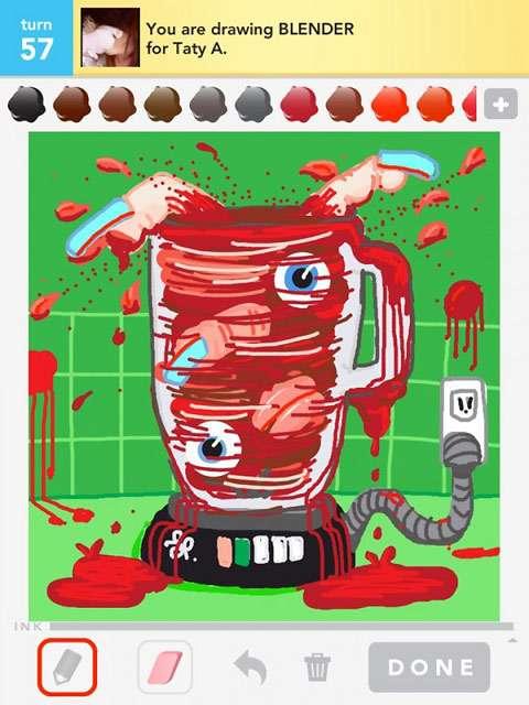 Irreverent iPad Illustrations