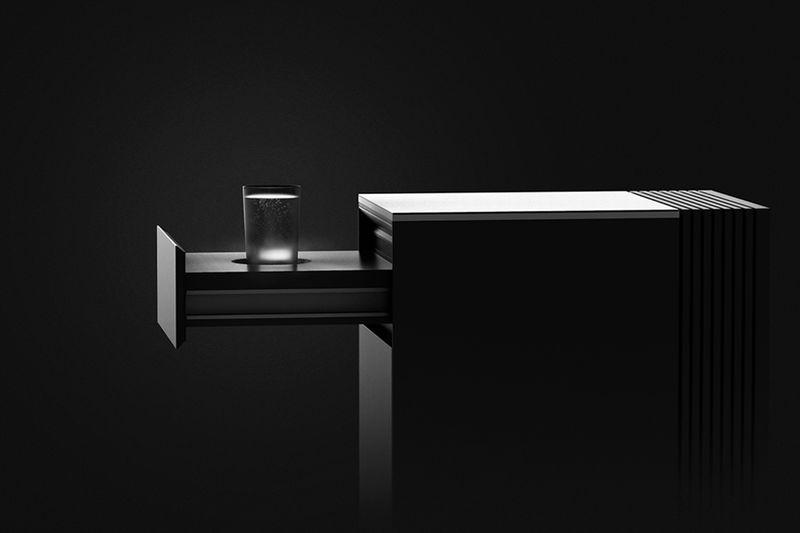 Drawer-Equipped Desk Fridges