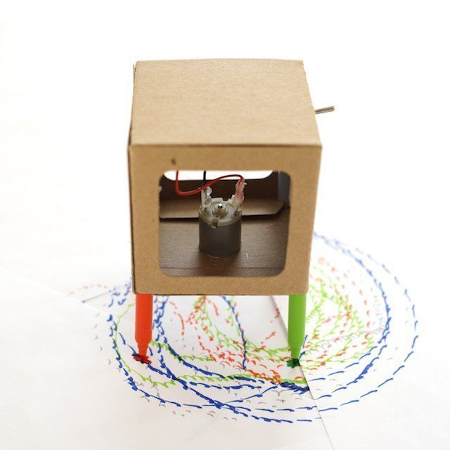 DIY Drawing Robots