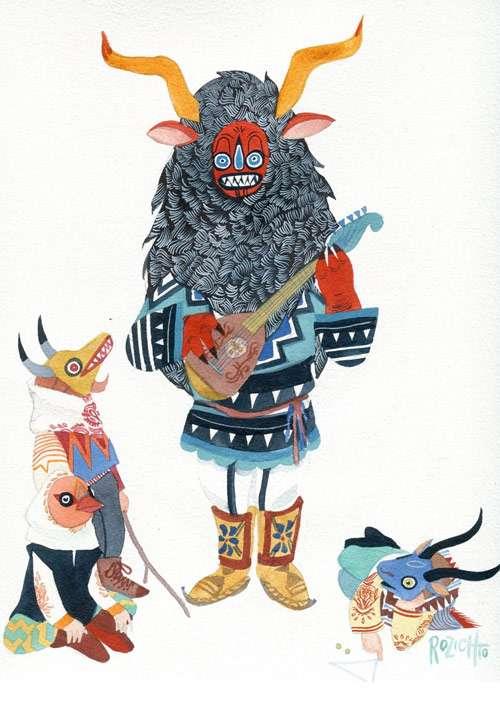 Modern Mythology Illustrations