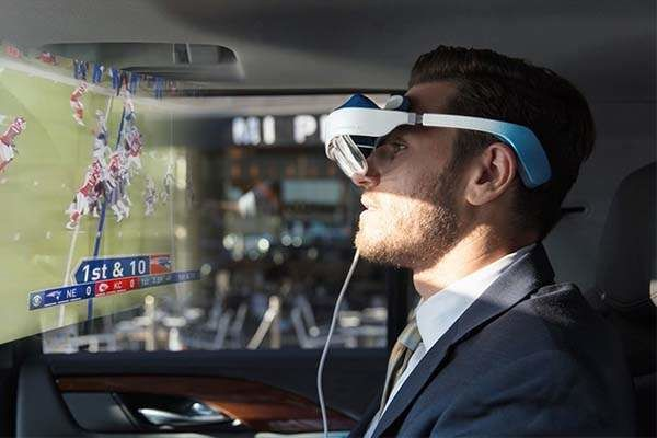 Portable Private AR Headsets