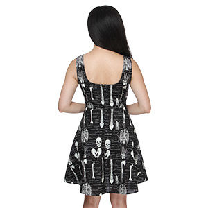 Illuminating Skeletal Dresses