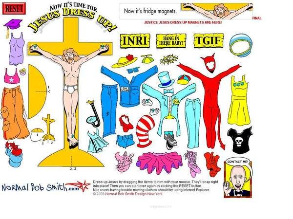 Dress Up Jesus Online