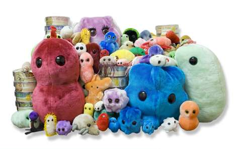 Disease-Themed Plushies
