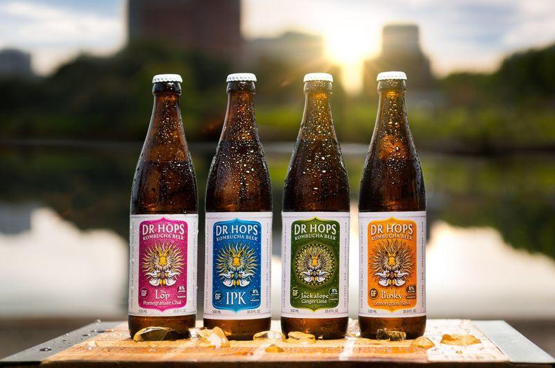 High-Alcohol Kombucha Beers