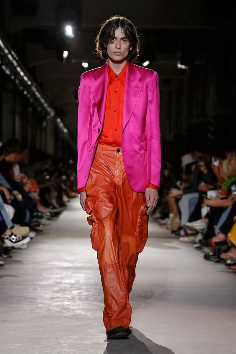 Ultra-Chromatic Overstated Fashion Lines
