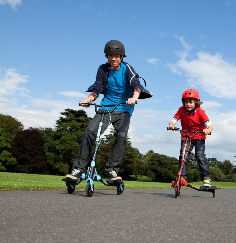 Three-Wheeled Trick Scooters