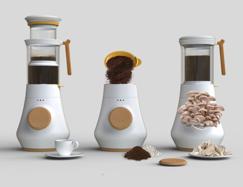 Fungi-Cultivating Coffee Makers