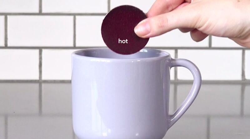 2D-Printed Drink Discs