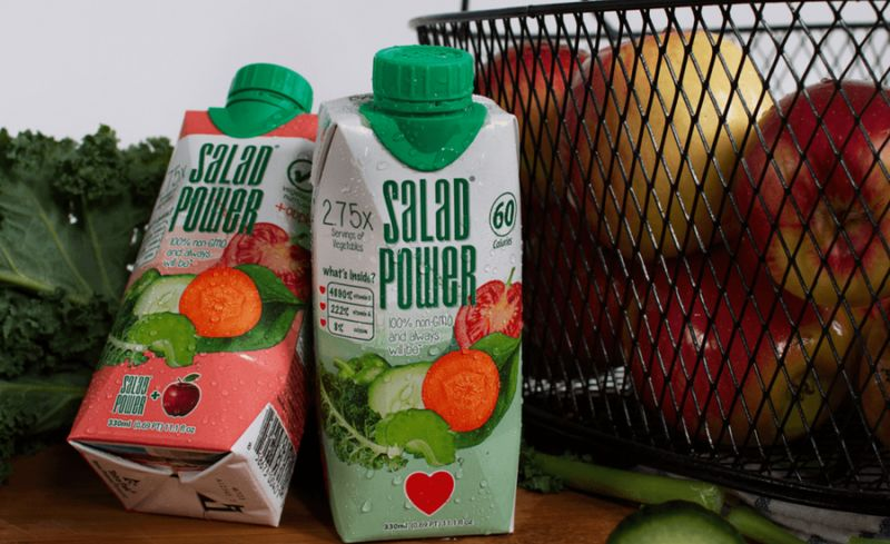 Drinkable Salad Beverages