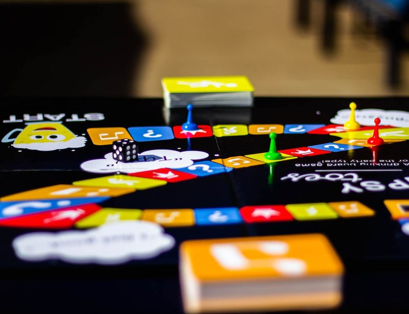 Alcohol-Integrated Board Games