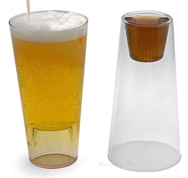 Dual-Purpose Drinking Glasses
