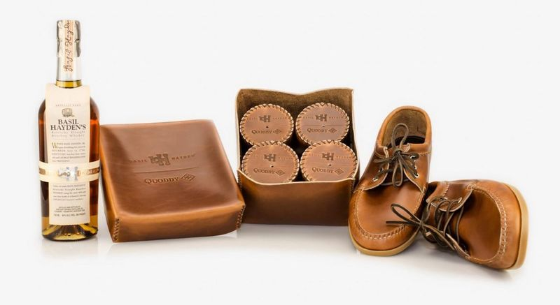 Bourbon Drinking Shoe Sets