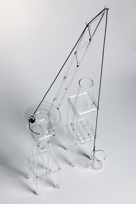 Crane-Inspired Drinkware Sets