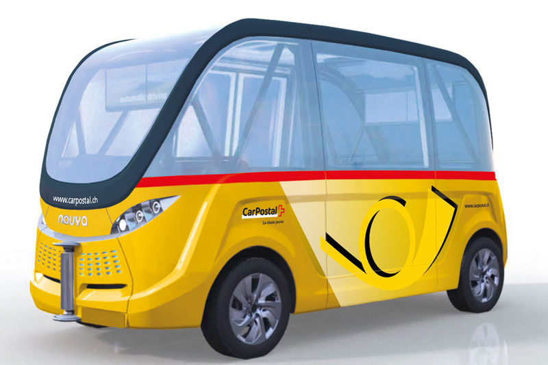 Driverless Shuttle Buses