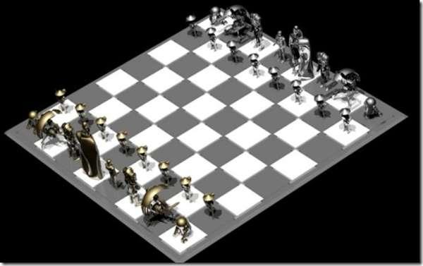 Sci-Fi Robot Games : D...C 3po