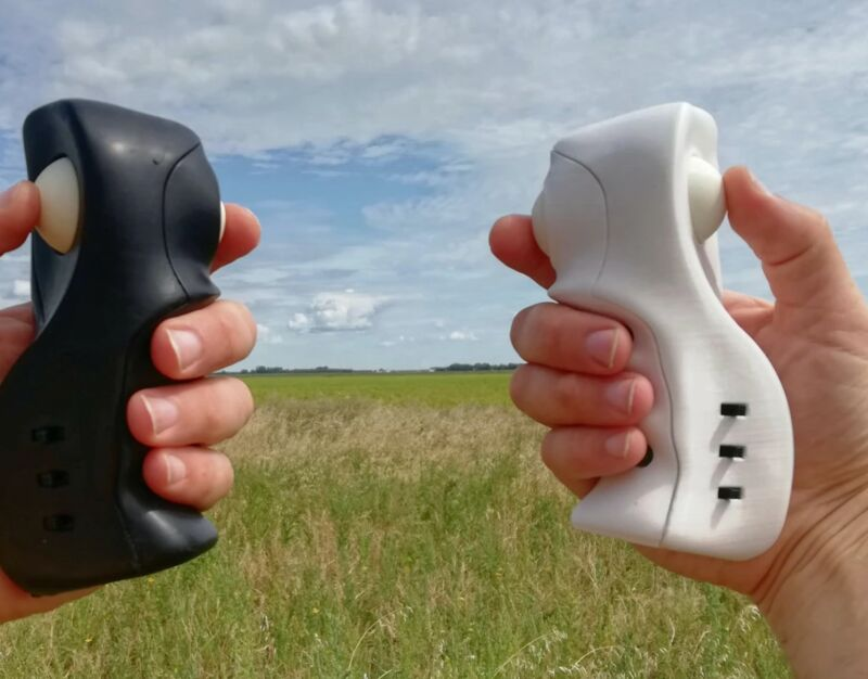 Dual-Digit Drone Controllers