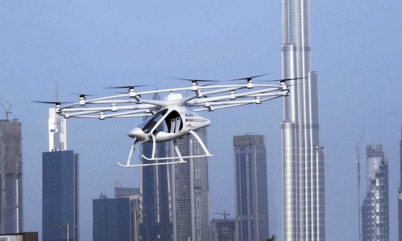 Unmanned Drone Taxis