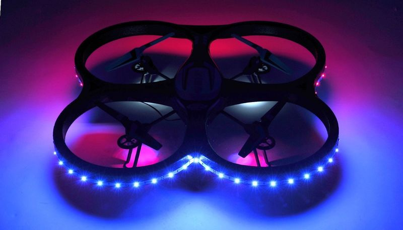 Chromatic LED Drones