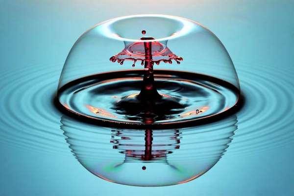Calculated Liquid Drop Photos (UPDATE)