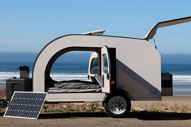 Scandinavian Design Camping Trailers