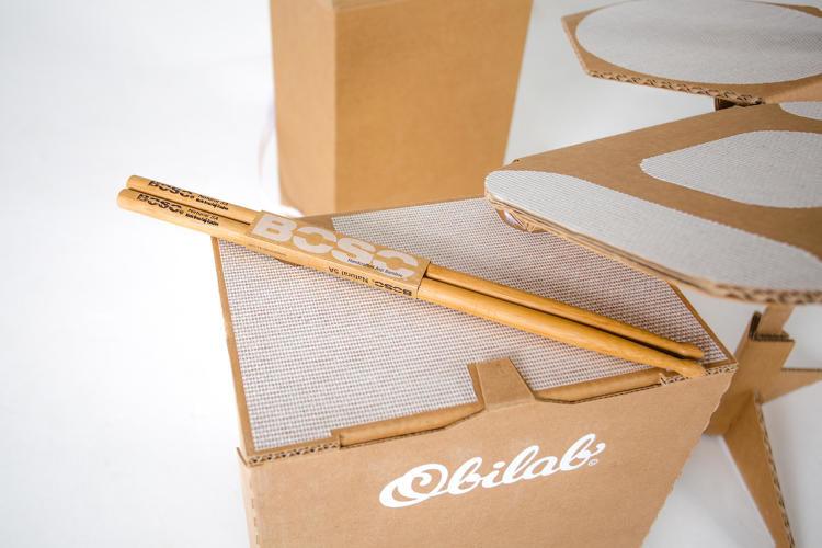 Portable Cardboard Drumkits