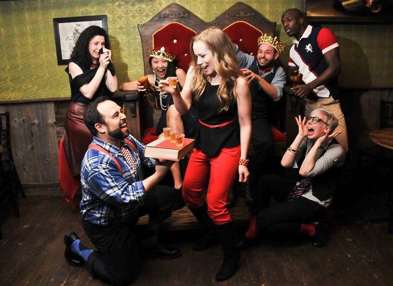 Drunken Shakespeare Performances