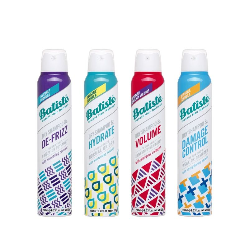 Functional Dry Shampoos
