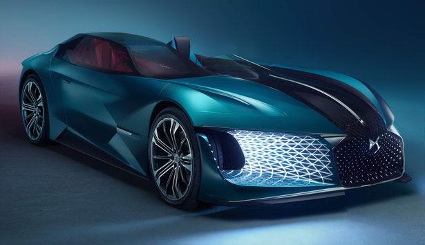 Futuristic Asymmetrical Automobiles