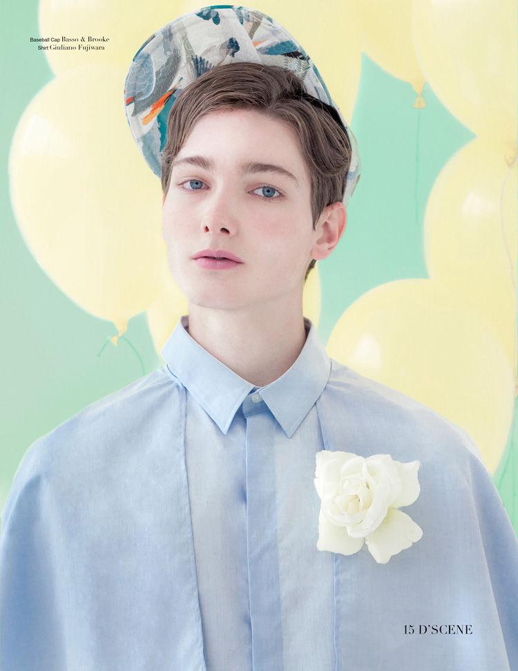 Boyish Pastel Portraits