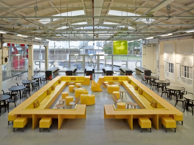 Playfully Industrial Workspaces