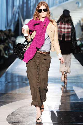 Starbucks on the Runway
