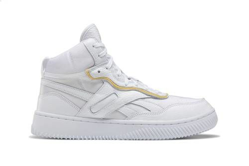 Mesh-Based High-Cut Sneakers