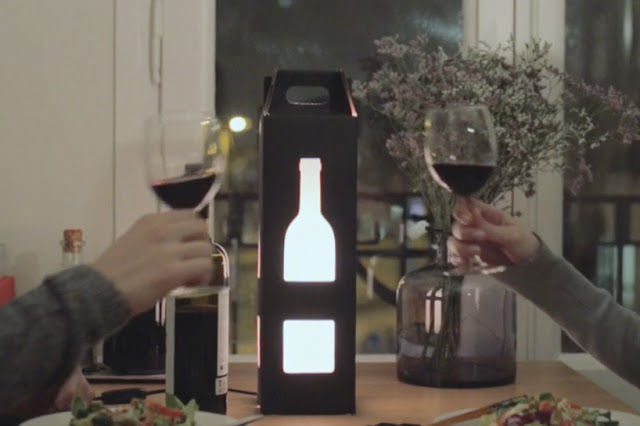 Light-Up Wine Carriers
