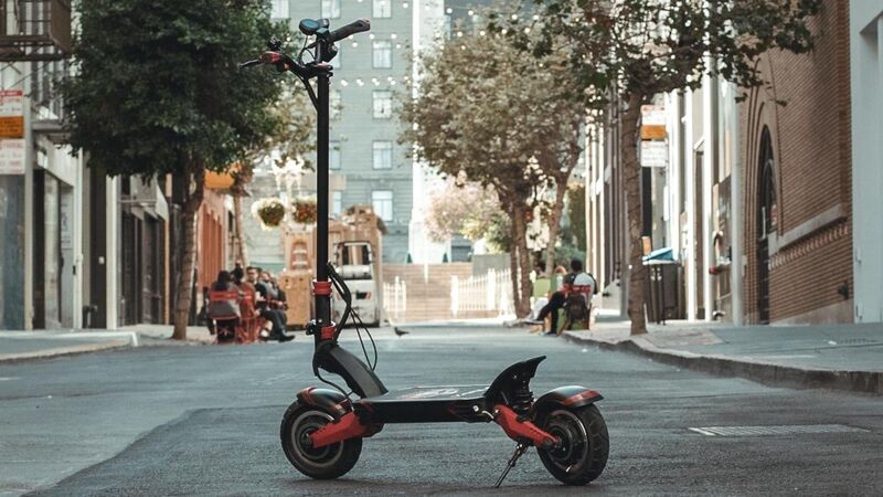 Dual-Motor Electric Scooters