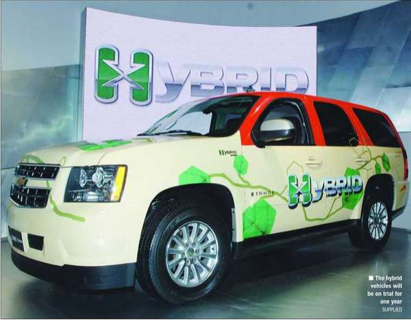 Hybrid Taxis in Dubai