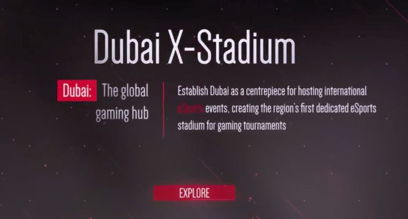 Middle Eastern Esports Stadiums