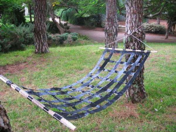 Sticky DIY Hammocks