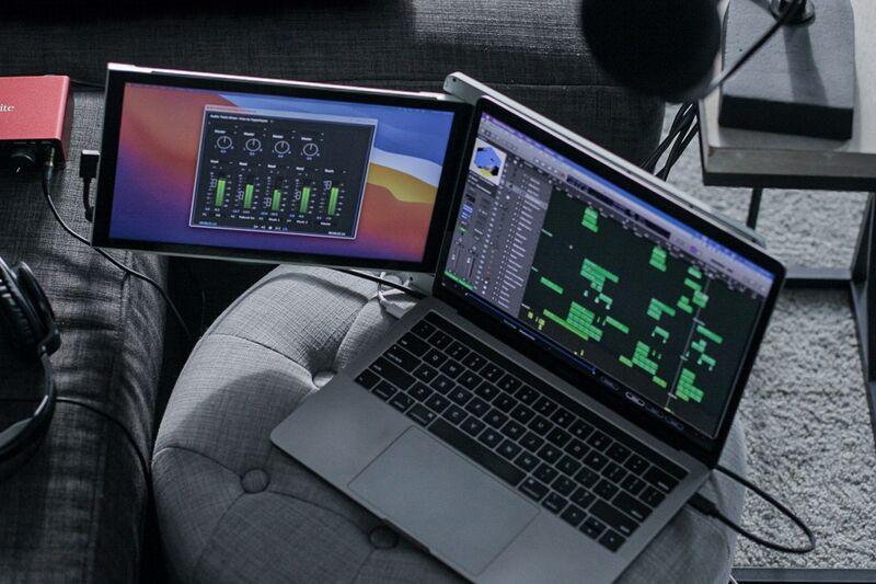 Supplemental Laptop Screen Attachments