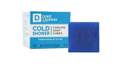 Skin-Cooling Soap Cubes