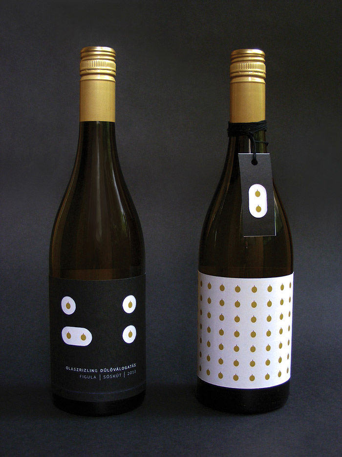 Minimalist Grape Wine Packaging