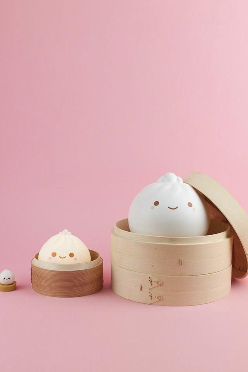 Adorable Dumpling-Themed Lamps