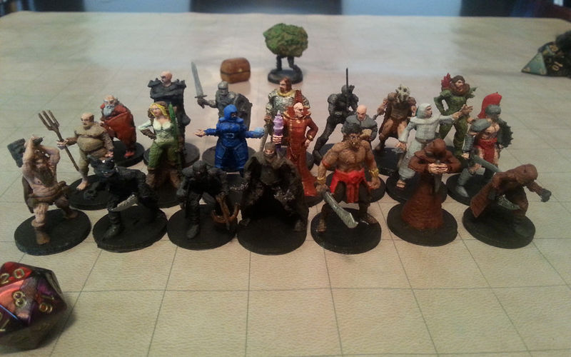 3d Printed Game Pieces Dungeons Amp Dragons Miniatures