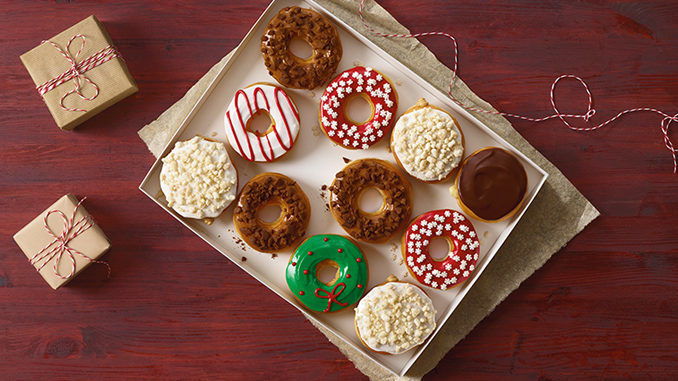 Holiday Cookie-Flavored Donuts