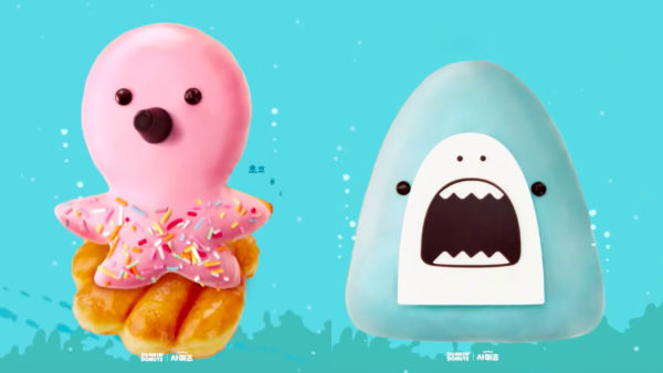 Adorable Sea-Themed Donuts