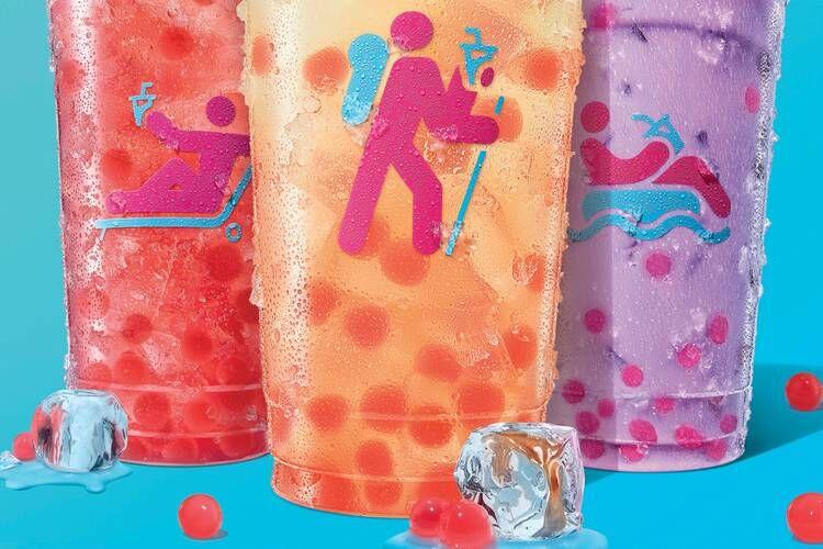 Bursting Berry Beverage Bubbles