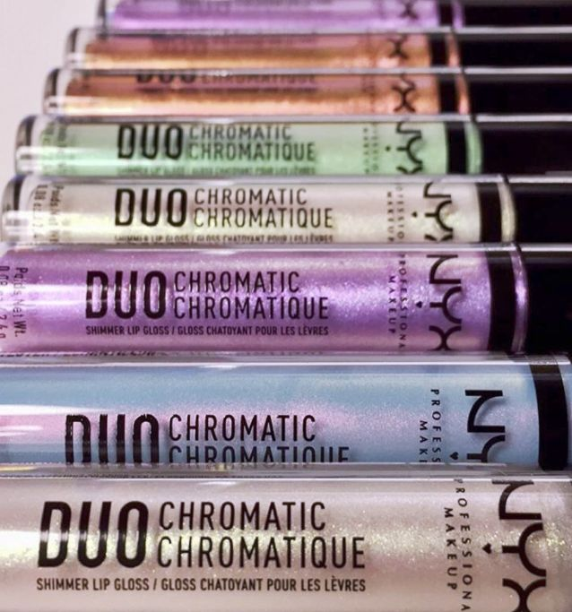Colorful Chrome Lip Glosses